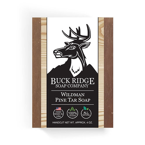 Wildman Pine Tar Handmade Soap