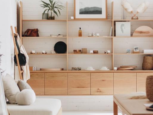 Inspiration: une bibliothèque construite grâce au Ikea Hack