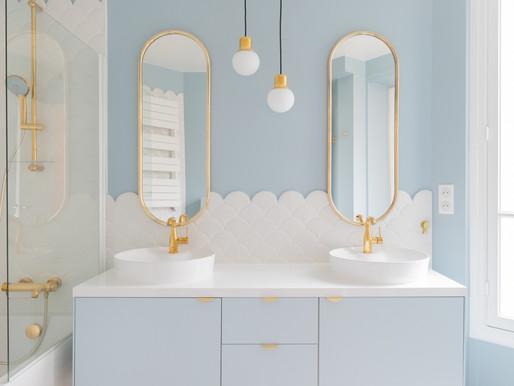 Shopping list : Comment créer un meuble de salle de bain sur pieds ?