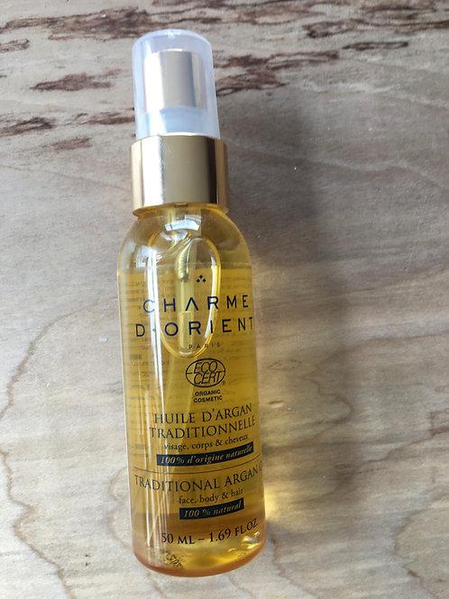 Traditional organic argan oil