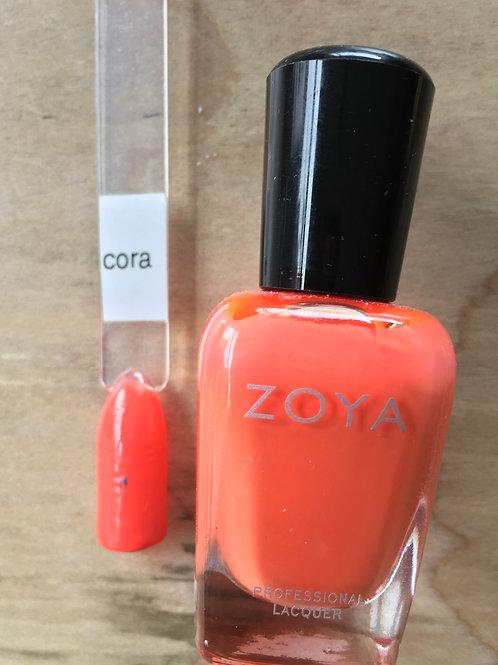 Zoya polish cora