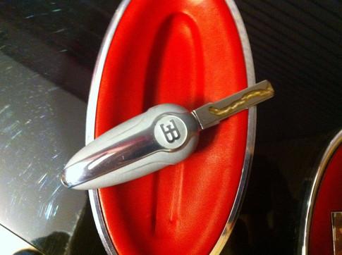 Bugatti's Speed Key