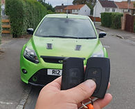 Ford Focus RS Keyless