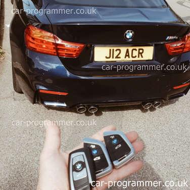 bmw m4 new design spare keys uk