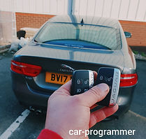 Jaguar xe spare key