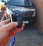Ford transit custom keys