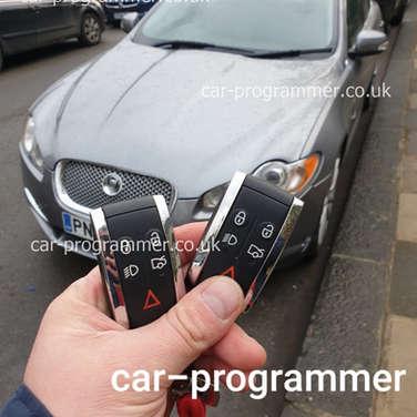 jaguar xf key programming uk