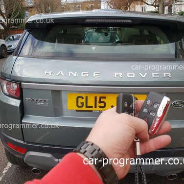 range rover sport keyless uk