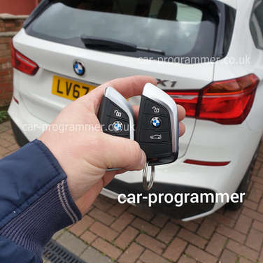 new bmw x3 and new key uk
