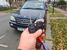mercedes ML key replacement