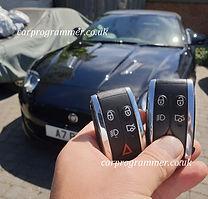 Jaguar xkr key replacement