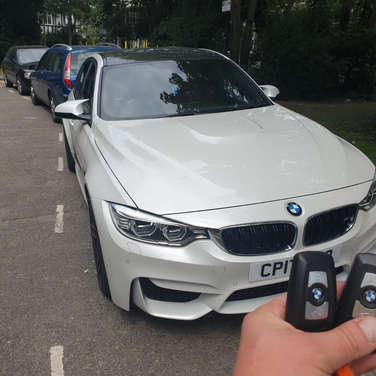 BMW f series keys