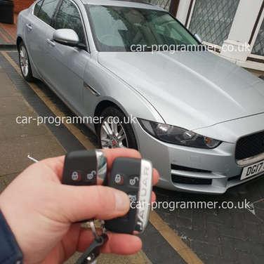 jaguar xe key keyless uk