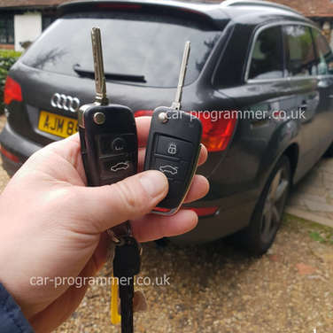 Audi Q7 spare key replacement uk