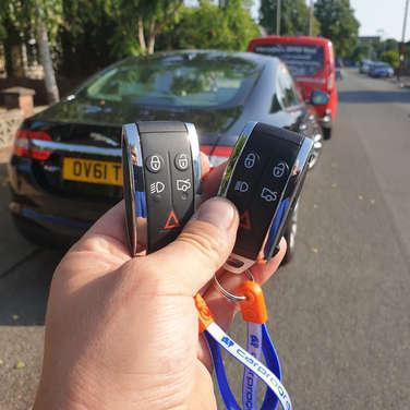 Jaguar xf spare key