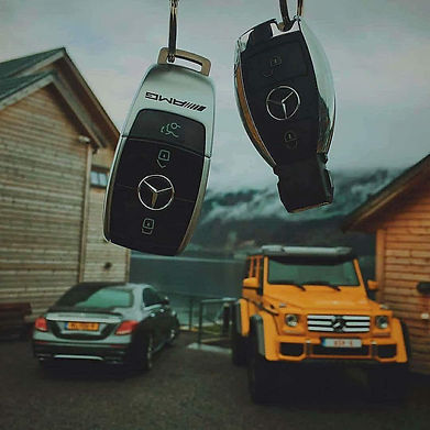 NEW MERCEDES KEY FOB