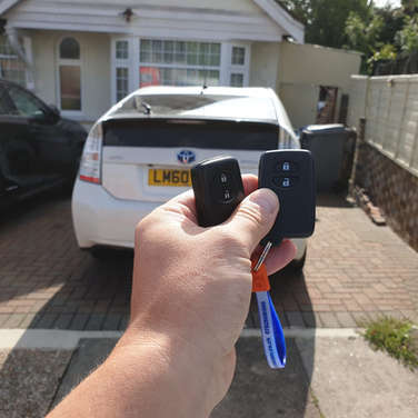 Toyota prius smart key