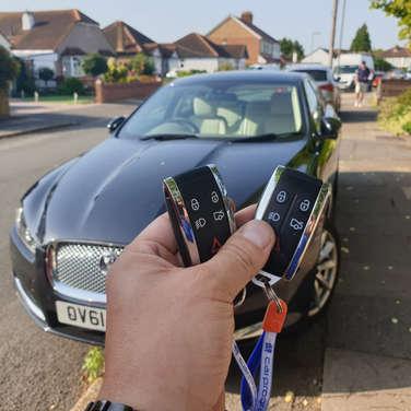 Jaguar XF keys lost