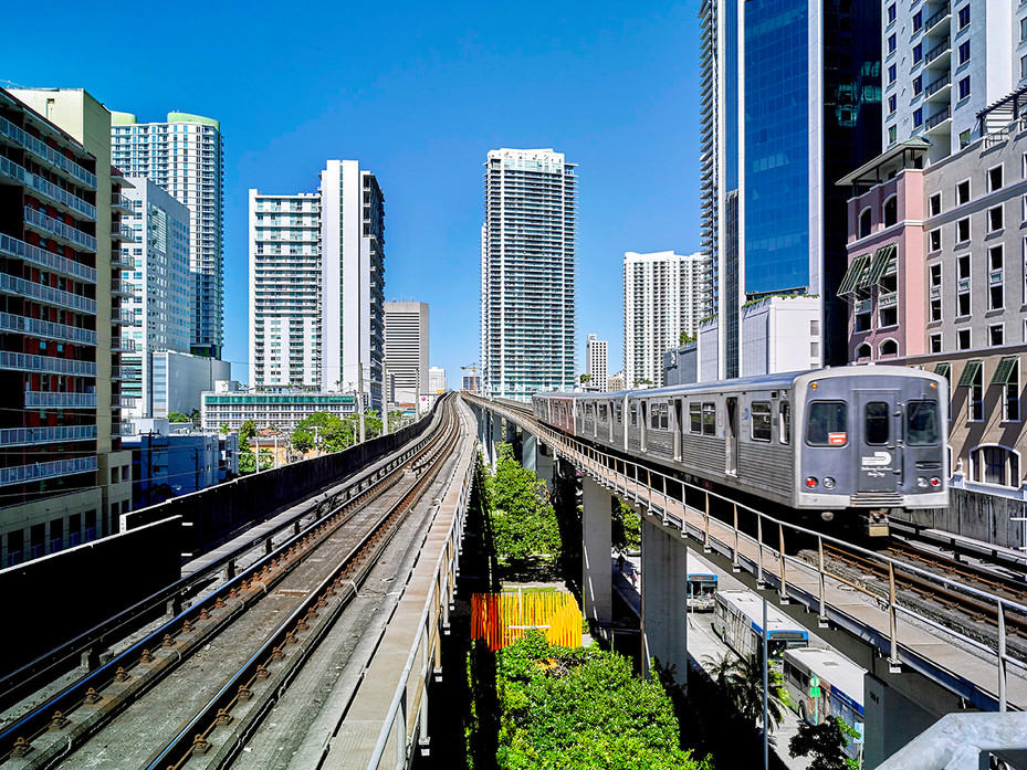 17-36 BRICKELL STAGE Brickell Metrorail Station