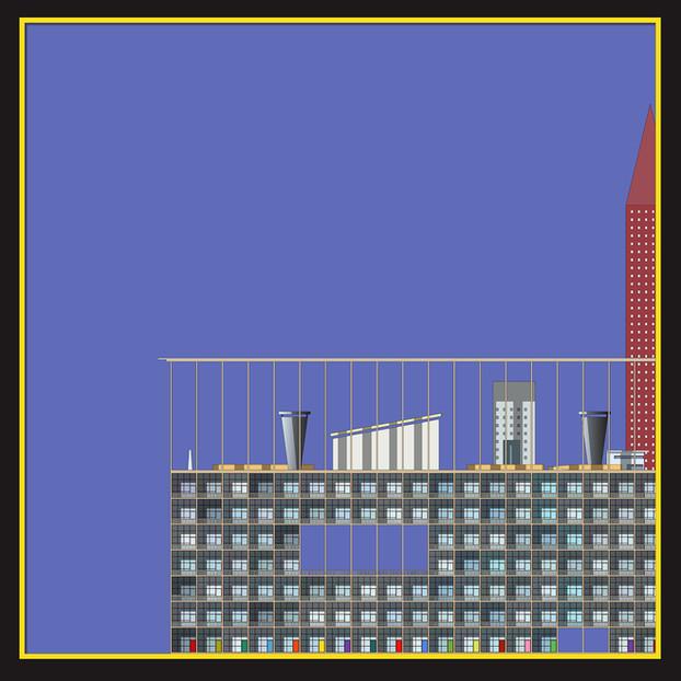18-17 POST-DIGITAL HOUSING facade