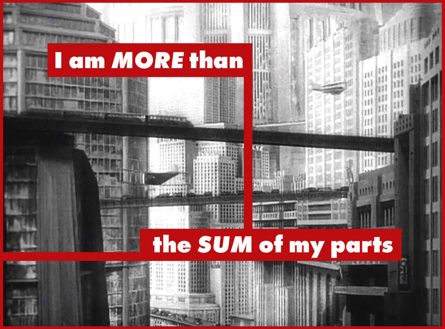 I AM MORE THAN THE SUM OF MY PARTS