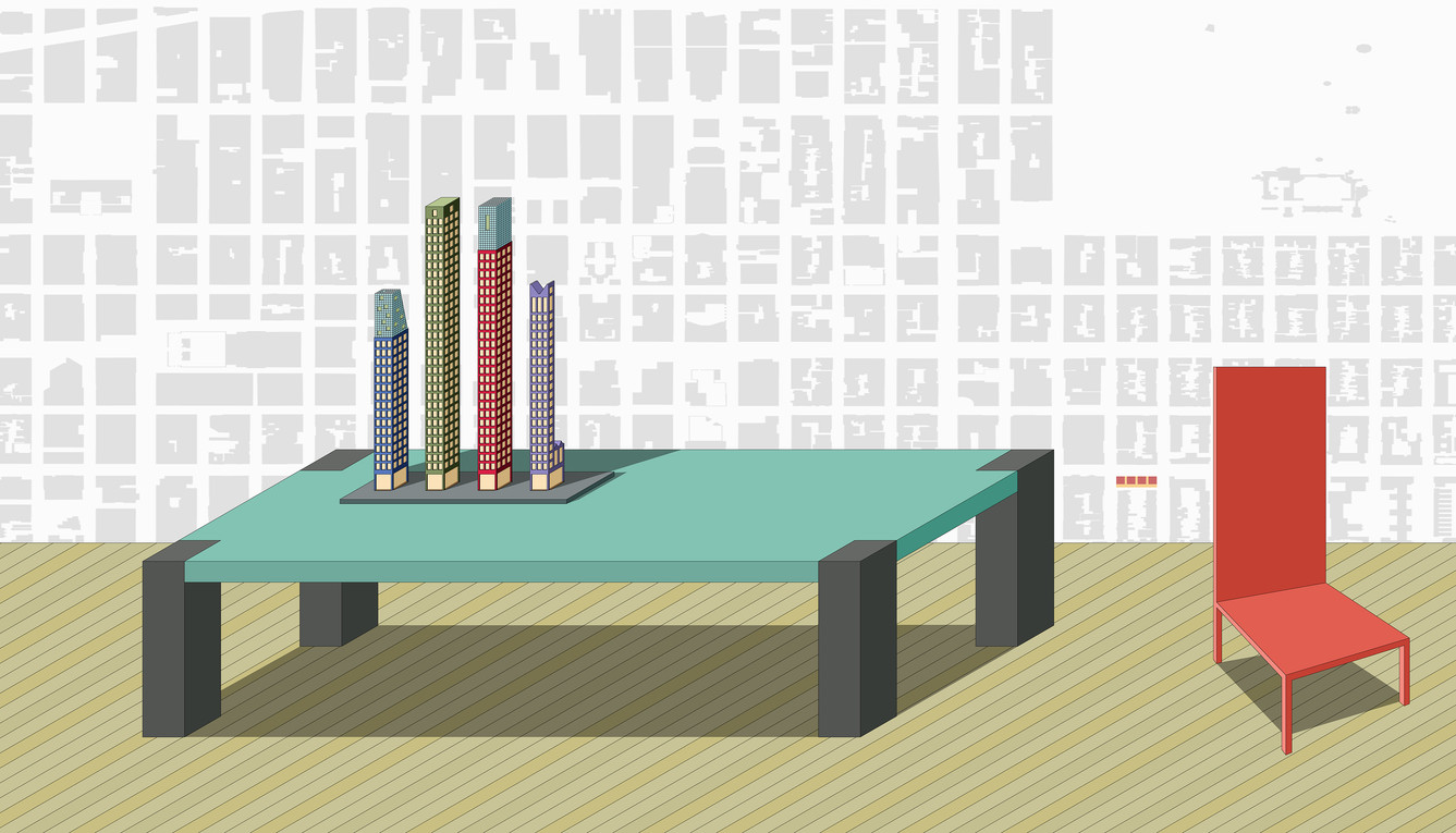 15-06 THE AMERICAN FAMILY pencil skyscrapers for consumption