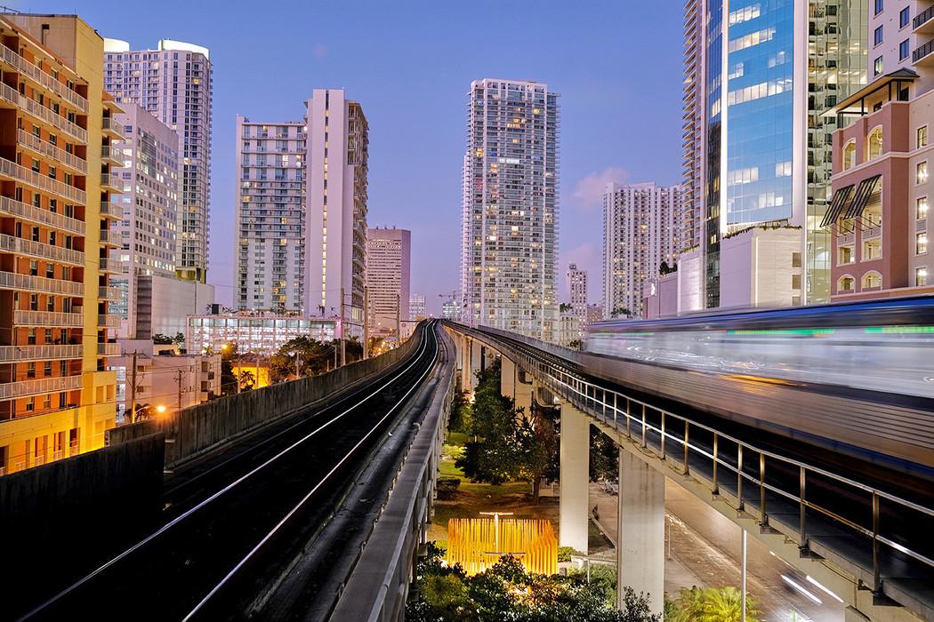 17-36 BRICKELL STAGE metrorail view