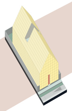 15-14 CHURCH OF PERPETUAL EXPERIMENTATION axonometric