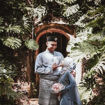 Faizal & Wani @ Fort Canning Park