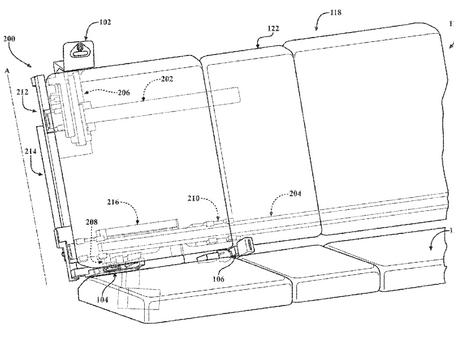 Another interesting patent from Apple's automotive development