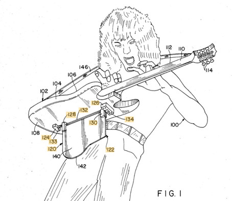 Eddie Van Halen was a guitar legend, a hair god, and, yes, a patented inventor