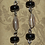 Thumbnail: Jasper, Onyx, & Shell Earrings