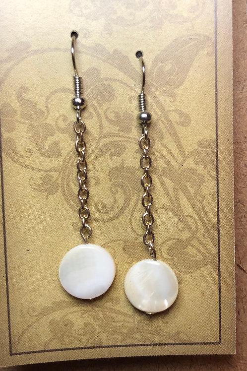 Shell Chain Earrings
