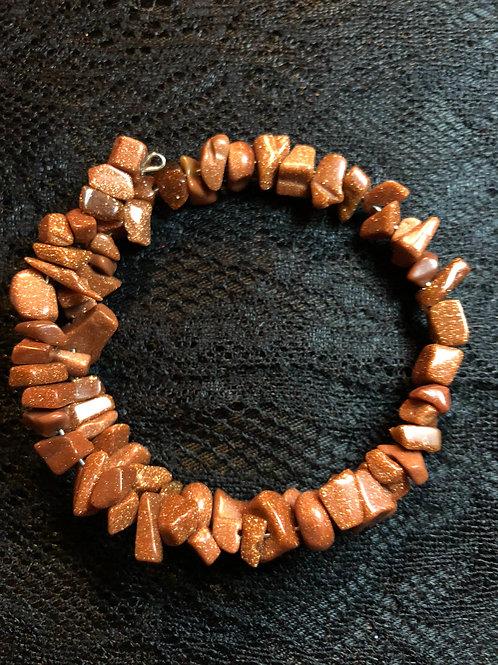 Glittering Sandstone Bracelet