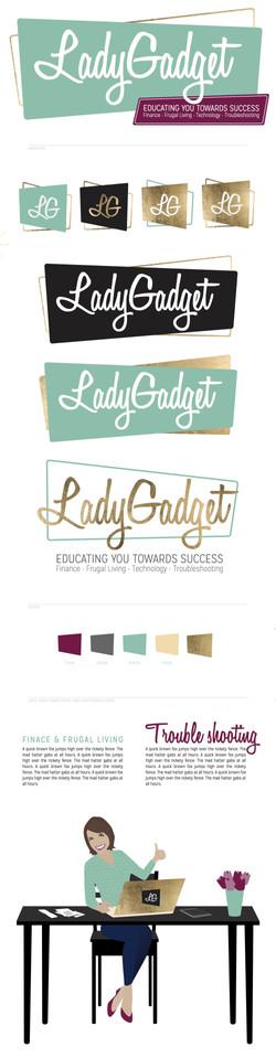LadyGadget Brand Sheet