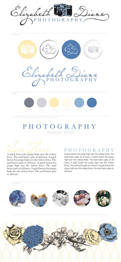 Elizabeth Diane Photography Branding