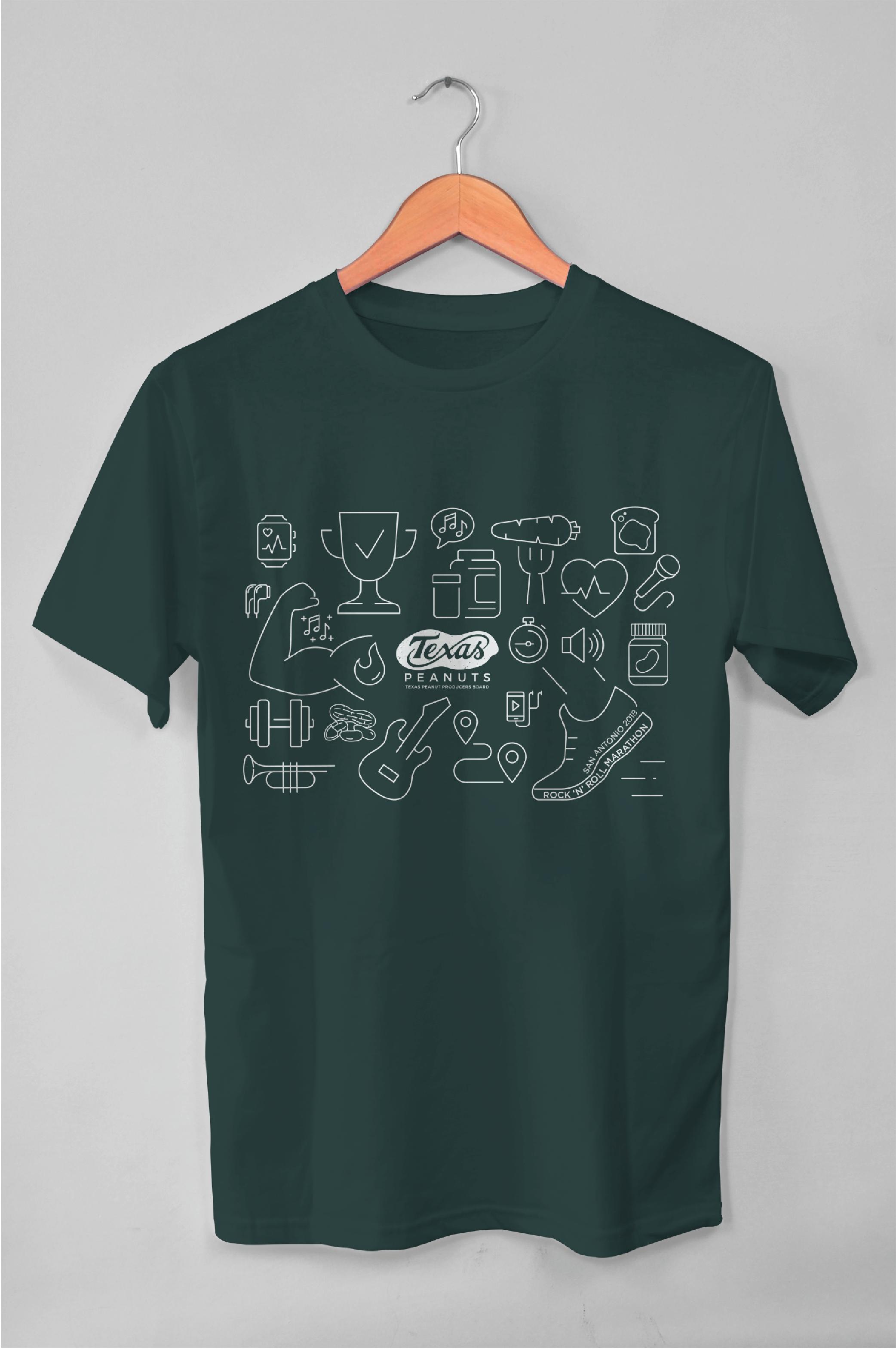 Texas Peanuts Marathon Tshirt