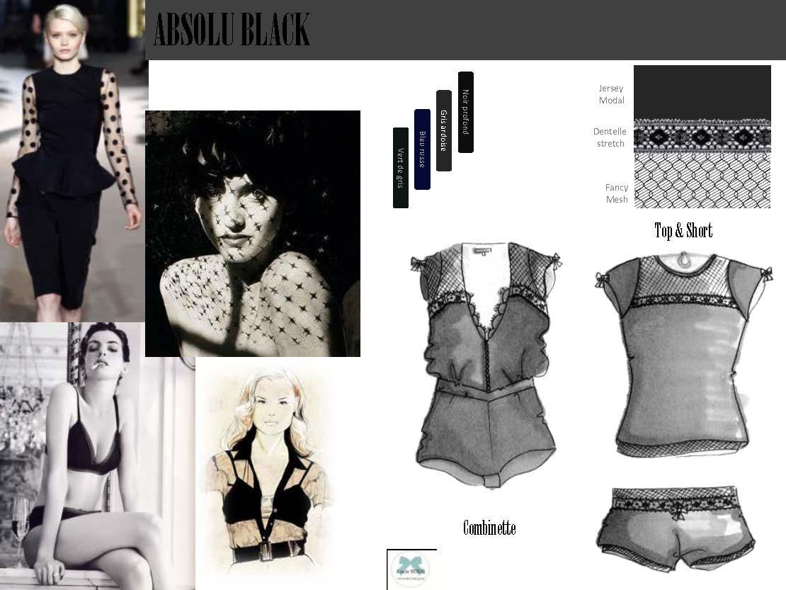 Chic nightwear by le studio de luce