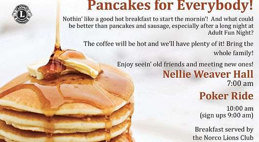 Norco Horseweek, Pancake Breakfast, food, breakfast