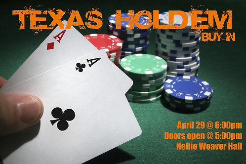 Texas Hold'em Buy-in
