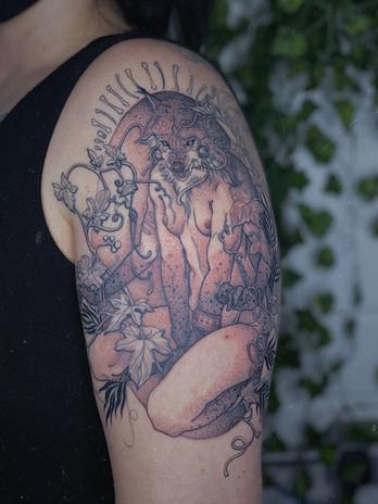 Goddess of Wolves