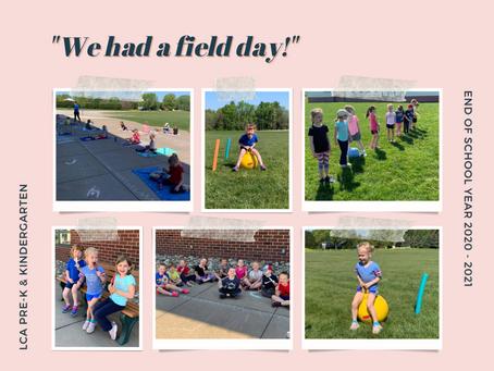 Pre-K & Kindergarten Field Day