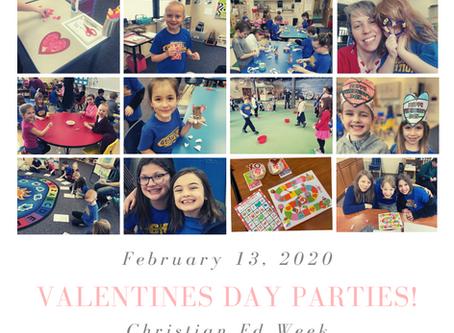 Valentine's Parties!