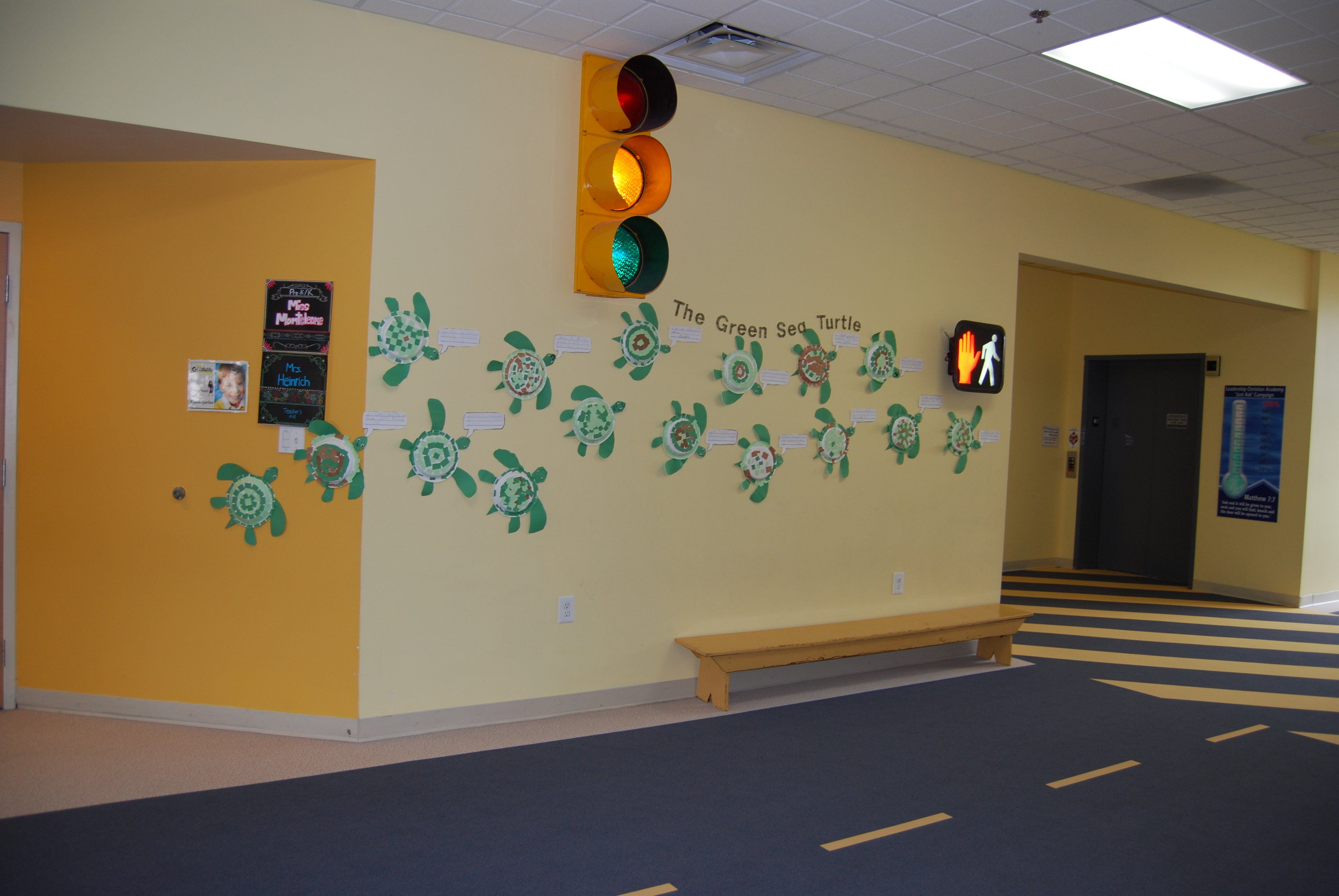 Pre-K & K Hallway