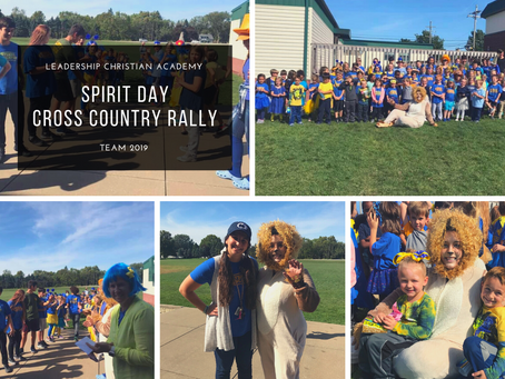 Cross Country Pep Rally