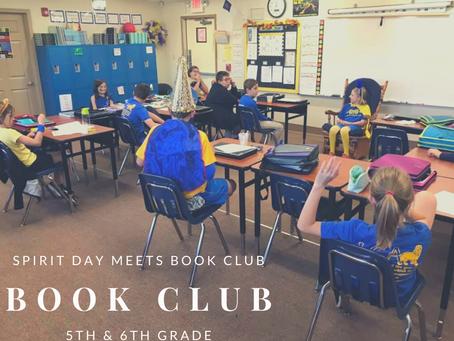 Book Club Meets Spirit Day