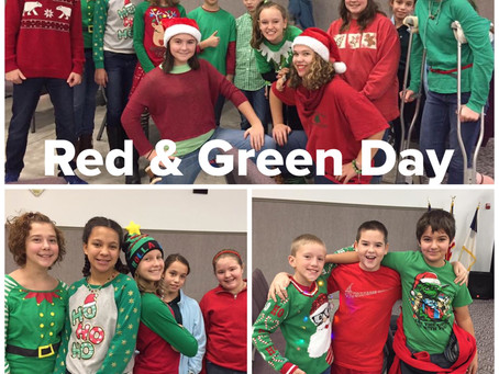 Red & Green Day