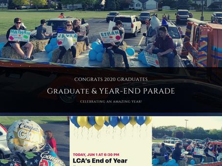 Congrats Graduating Class 2020