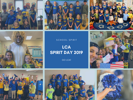 School Spirit Day!