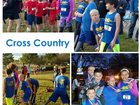 Cross Country Wrapping Up